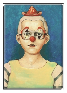 Foto Magnete Clown, XVI