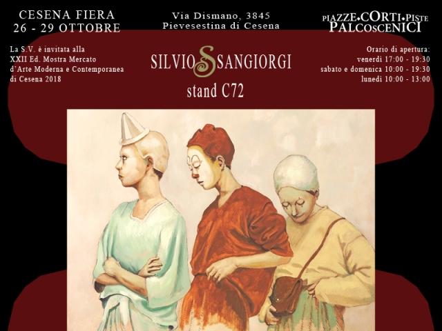 Invito fiera arte Cesena 2018