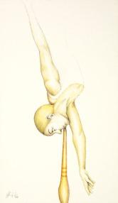 Galleria di ritratti di equilibristi