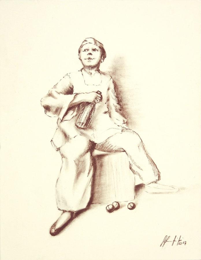 Silvio Sangiorgi - Ritratti di giocolieri
