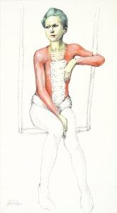 Silvio Sangiorgi - Ritratti di trapezisti
