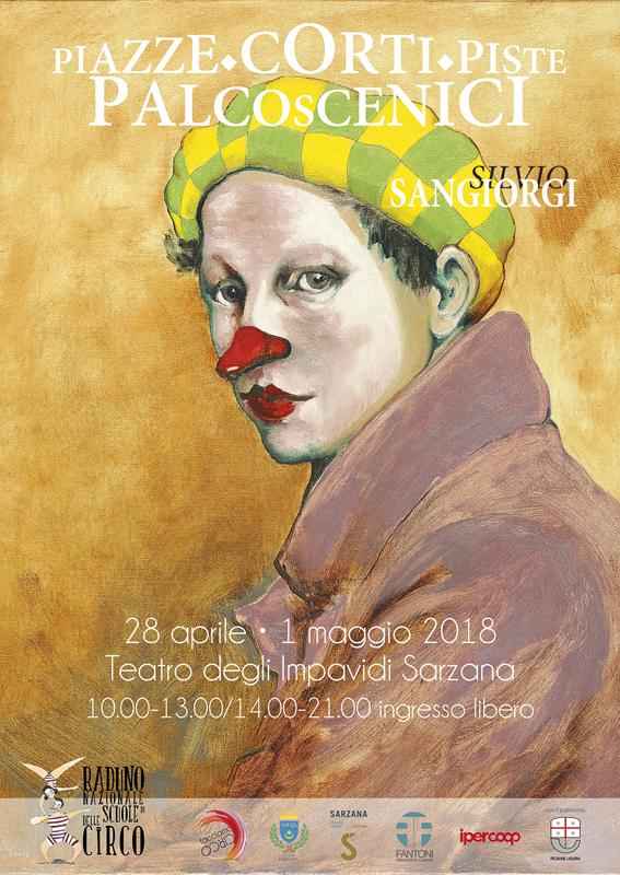 Teatro degli Impavidi: Silvio Sangiorgi - Piazze, Corti, Piste, Palcoscenici – Mostra Personale - Sarzana (SP)