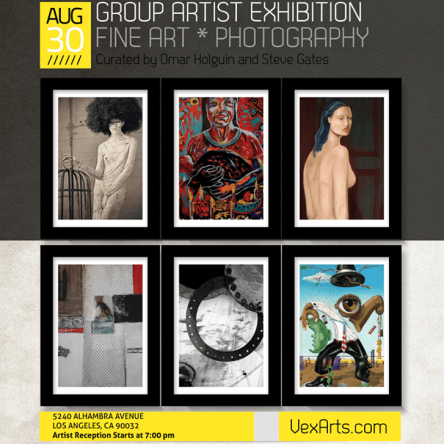 The Vex Fine Arts Group Exhibition in Los Angeles