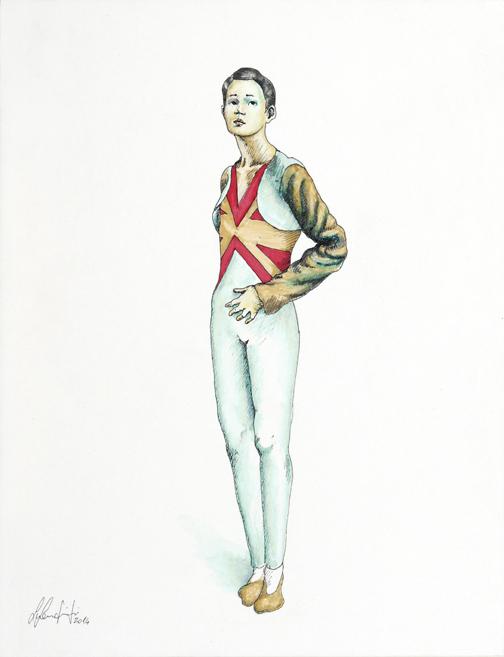 Silvio Sangiorgi - Ritratti di figurini