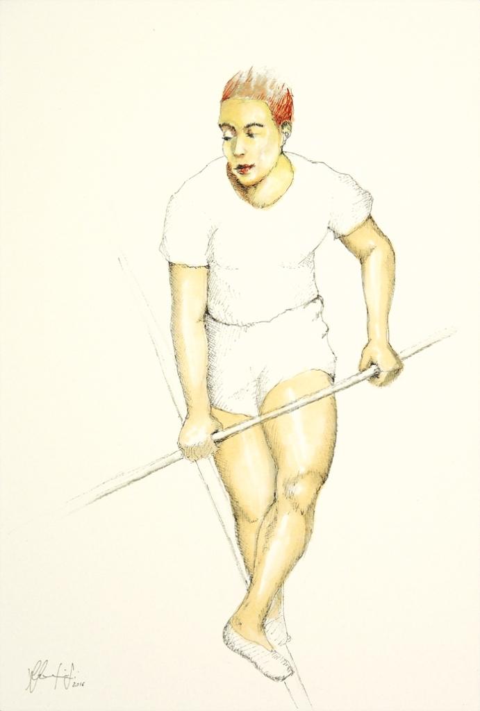 Silvio Sangiorgi - Ritratti di funamboli