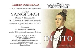 Invito Mostra Personale di Pittura di Silvio Sangiorgi