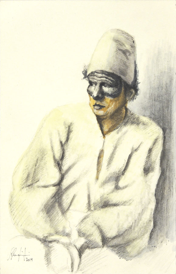 Galleria di ritratti di maschere