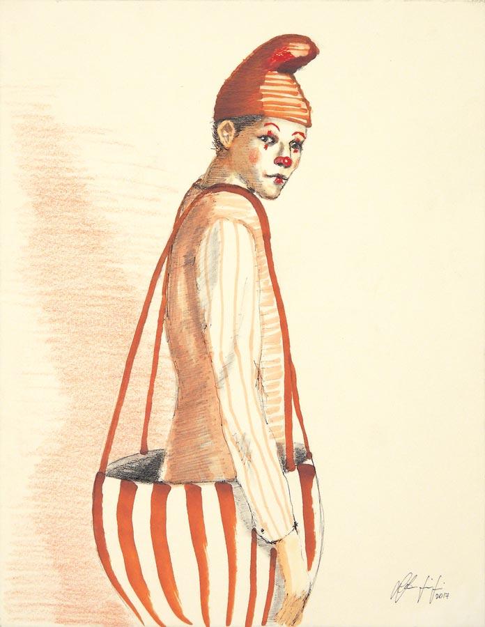 Silvio Sangiorgi - Ritratti di clown