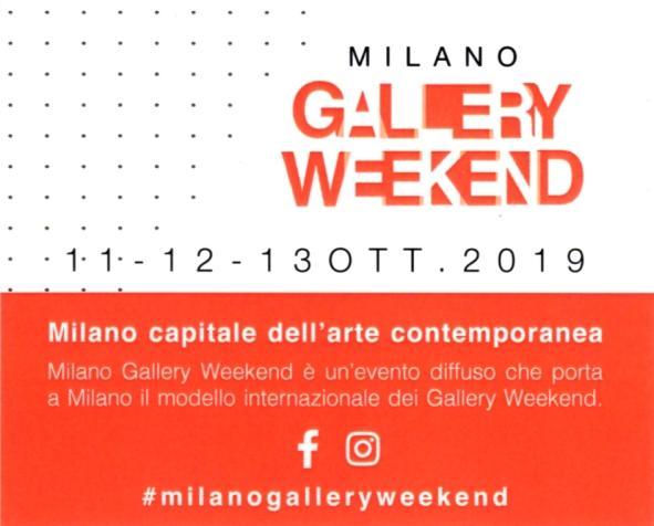 Milano capitale dell'arte contemporanea - Milano Gallery Weekend