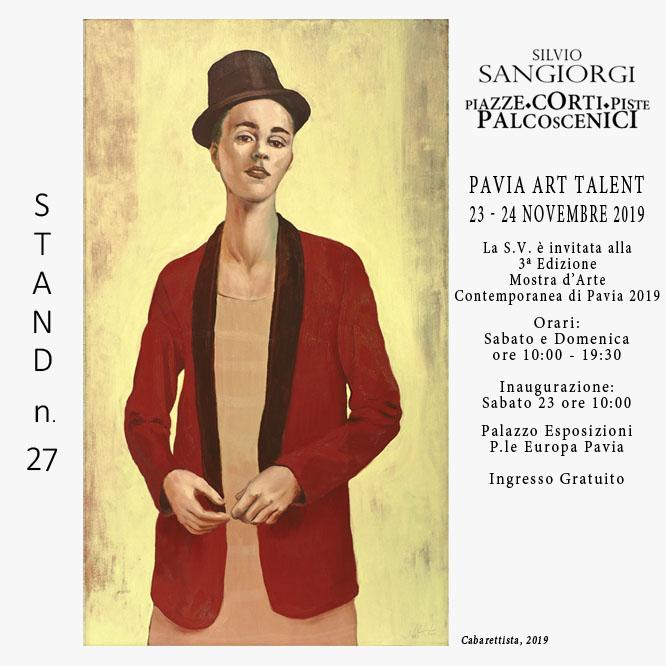 Invito Fiera Pavia Art Talent 2019