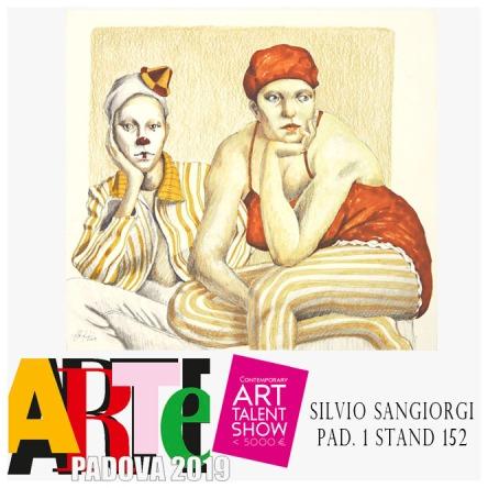 Silvio Sangiorgi ad Arte Padova 2019