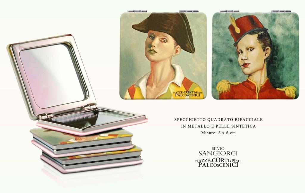 Silvio Sangiorgi - Specchietto da borsa