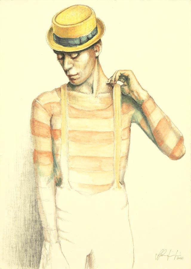 Silvio Sangiorgi - Ritratti di ballerini