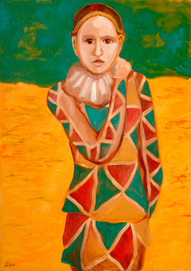 Silvio Sangiorgi - Ritratti di maschere