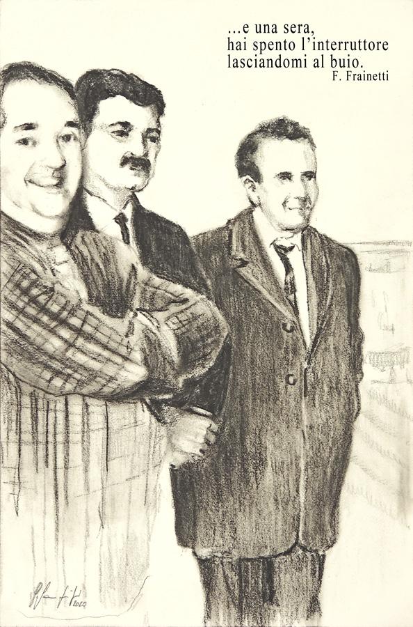 Silvio Sangiorgi - Illustrazione Compagni di strada