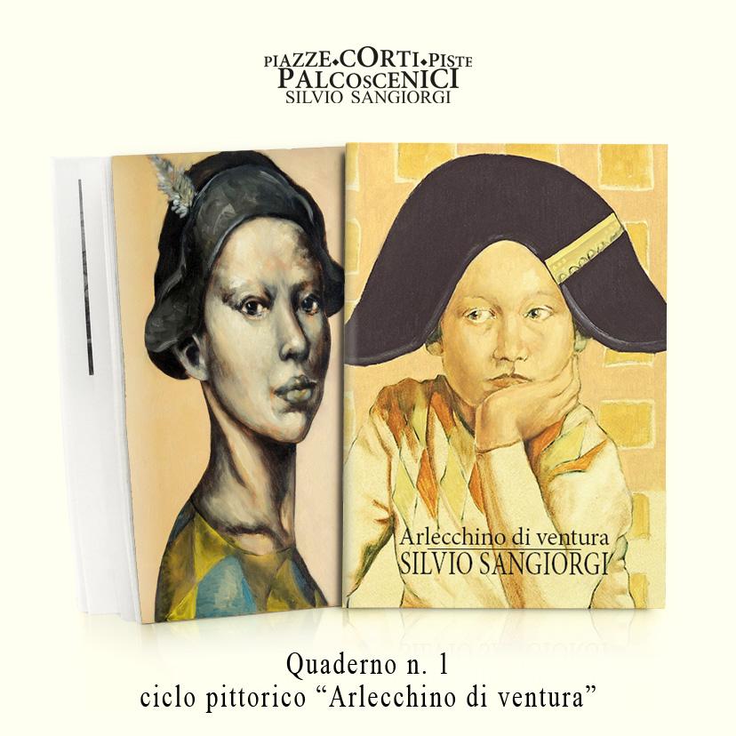 Silvio Sangiorgi - Quaderno Arlecchino di ventura